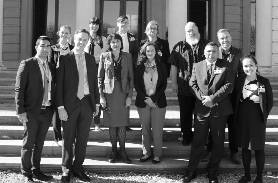 Photo of DPOA Geneva delegation