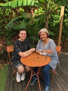 Photo of Helen Meekosha and Dr Julia Bahner