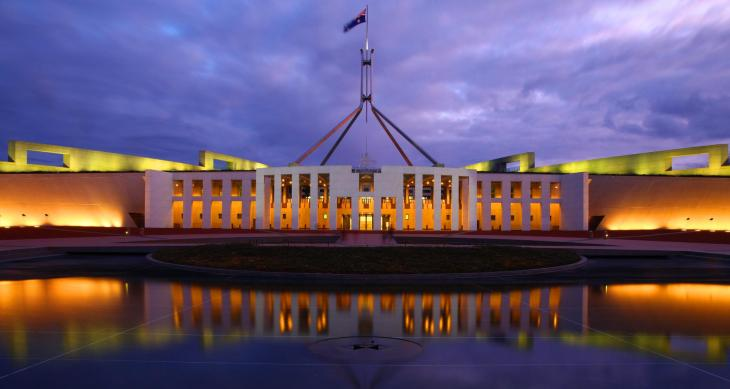 Photo of parliament house.